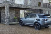 2021 Land Rover Discovery Sport P300e charge plug
