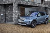 2021 Land Rover Discovery Sport P300e charging