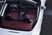 2021 Mazda MX-5 100th Anniversary Edition - burgundy interior