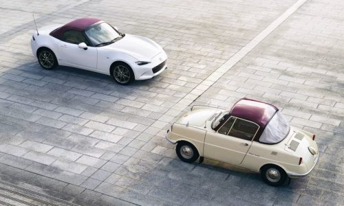 Mazda celebrates 100th anniversary with special editions