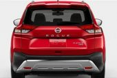 2021 Nissan X-Trail Rogue leaked-taillights