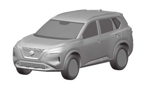2021 Nissan X-Trail patent images surface, reveal new design