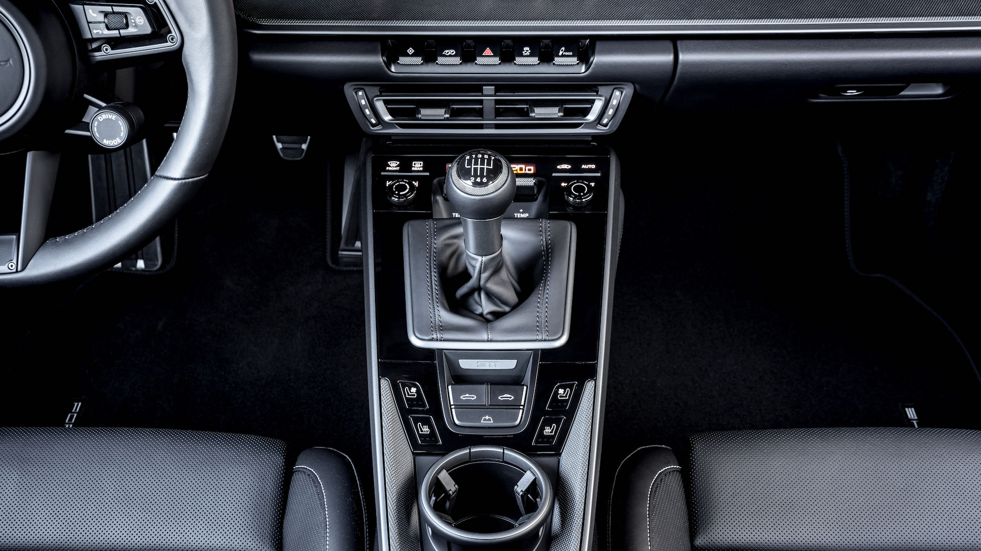 2021 Porsche 911 Update Adds 7 Speed Manual Python Green 930 Interior Option Performancedrive