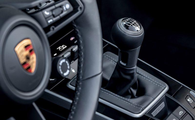 2021 Porsche 911 manual