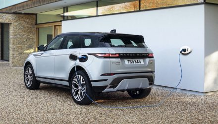2021 Range Rover Evoque P300e charge