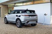 2021 Range Rover Evoque P300e charge