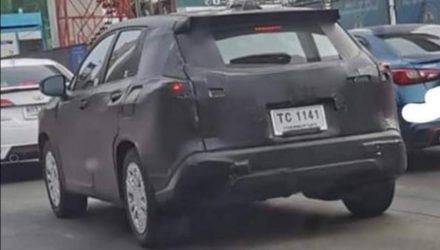 2021 Toyota 'Corolla Cross' prototype spotted in Thailand