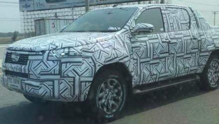 2021 Toyota HiLux prototype spied-Thailand