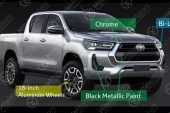 2021 Toyota HiLux revealed with brochure-high grade