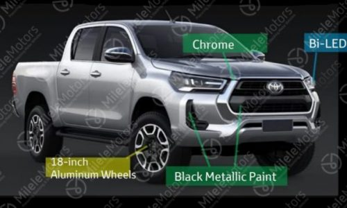 2021 Toyota HiLux revealed in leaked brochure images