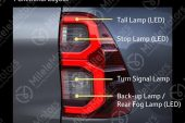 2021 Toyota HiLux revealed with brochure-taillights