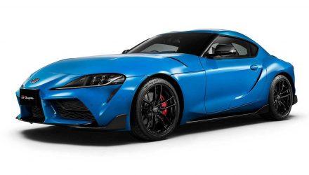 2021 Toyota Supra RZ Horizon Blue edition