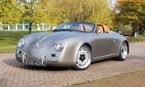 Iconic Autobody Speedster is a Porsche Boxster with 356 body (video)