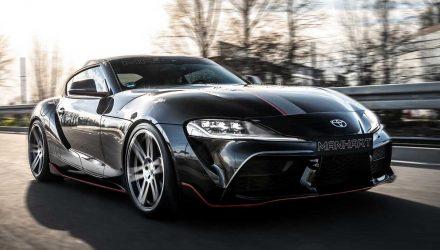 Manhart devises Toyota Supra 'GR 450' tuning upgrades