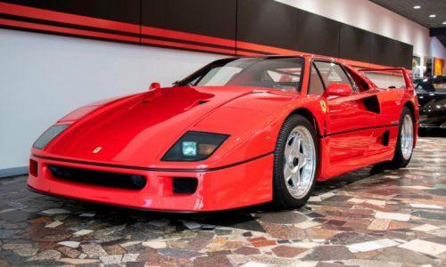 For Sale: 1990 Ferrari F40 in Australia, travelled just 8899km