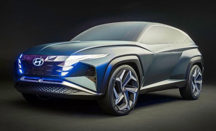 2019 Hyundai Vision T Concept Front