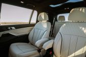 2020 Alpina XB7-6 seat layout