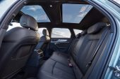 2020 Audi A6 Allroad-rear seats