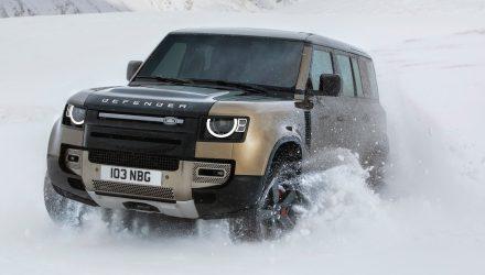 2020 Land Rover Defender 110-snow