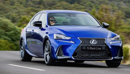 2020 Lexus IS Black Line