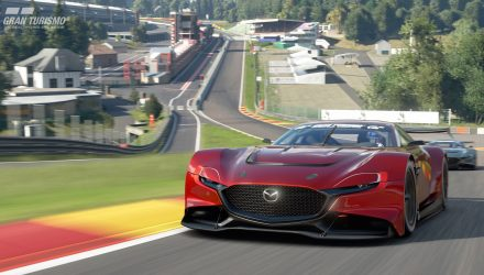 Mazda RX-Vision GT3 concept debuts with 420kW 4-rotor engine