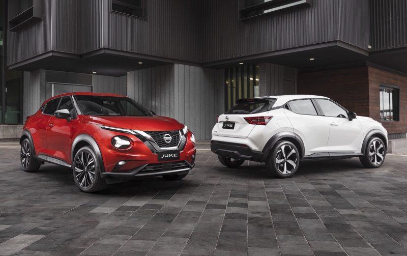2020 Nissan Juke Ti and ST-L