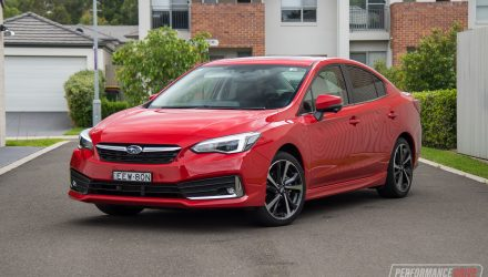 2020 Subaru Impreza 2.0i-S sedan-Pure red