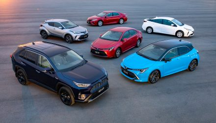 2019 Toyota Hybrid vehicle range
