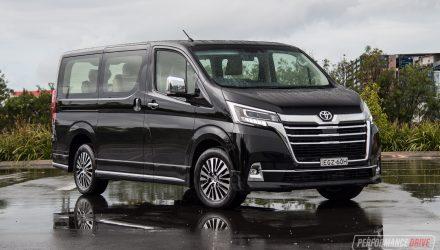 2020 Toyota Granvia VX review (video)