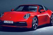 2021 992 Porsche 911 Targa leaked - 2