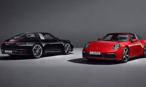 2021 992 Porsche 911 Targa leaks online