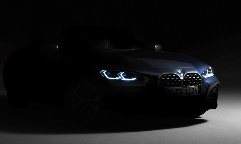 2021 BMW 4 Series-front grille preview