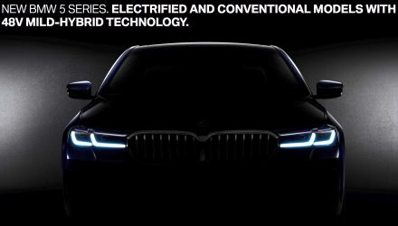 2021 BMW 5 Series previewed, 48V mild hybrid confirmed