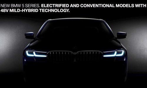 2021 BMW 5 Series previewed, 48V mild hybrid confirmed