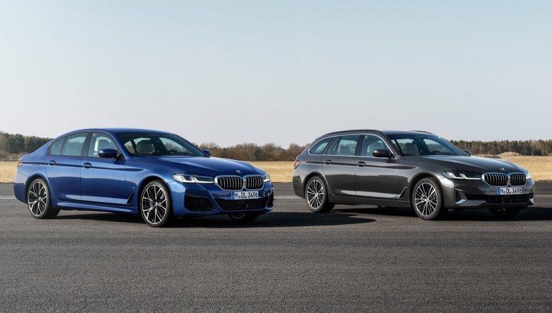 2021 BMW 5 Series-sedan and Touring wagon