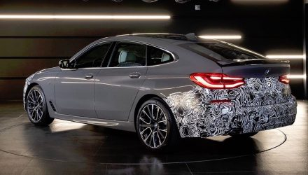 2021 BMW 6 Series Gran Turismo teaser