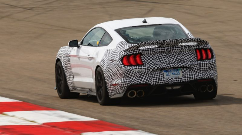 2021 Ford Mustang Mach 1-rear