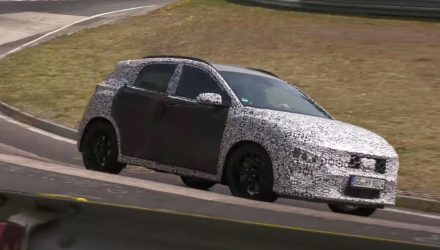 Hyundai Kona N spotted at Nurburgring with auto transmission (video)