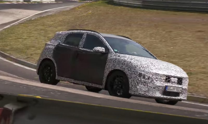 2021 Hyundai Kona N prototype auto-Nurburgring
