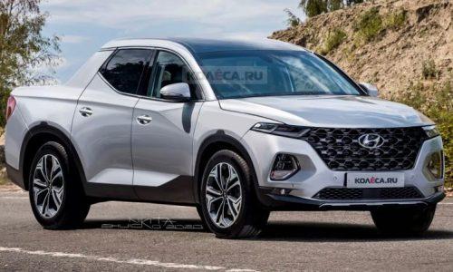 2021 Hyundai 'Santa Cruz' pickup rendered, most accurate yet?