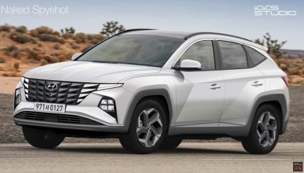 2021 Hyundai Tucson NX4 rendering - 2