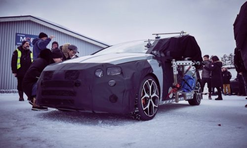 2021 Hyundai i20 N officially previewed, cold weather testing (video)
