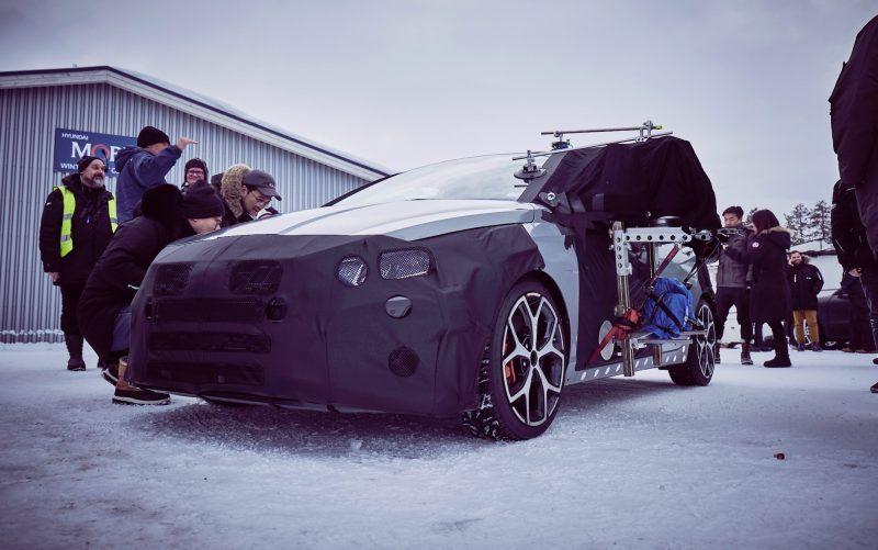 2021 Hyundai i20 N prototype Arjeplog testing - 1