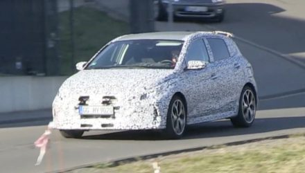 2021 Hyundai i20 N prototype production body maybe - front