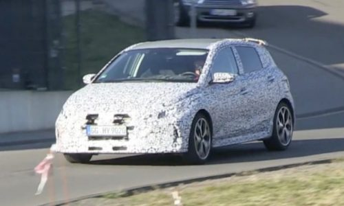 2021 Hyundai i20 N prototype spotted, production body? (video)