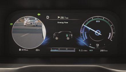 2021 Kia Sorento Blind-spot View Monitor BVM