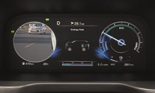 2021 Kia Sorento debuts clever Blind-spot View Monitor technology