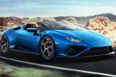 2021 Lamborghini Huracan EVO RWD Spyder-blue