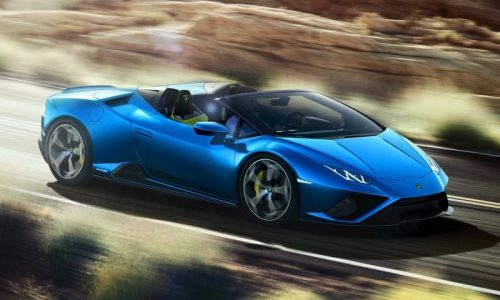 Stunning Lamborghini Huracan EVO RWD Spyder unveiled