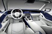 2021 Lexus LC convertible-interior